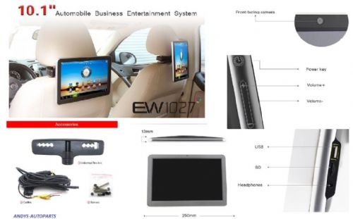 "10 "" IN CAR ENTERTAINMENT SYSTEM Android 4.0  WITH 10.1"" Capacitive Touch Screen"
